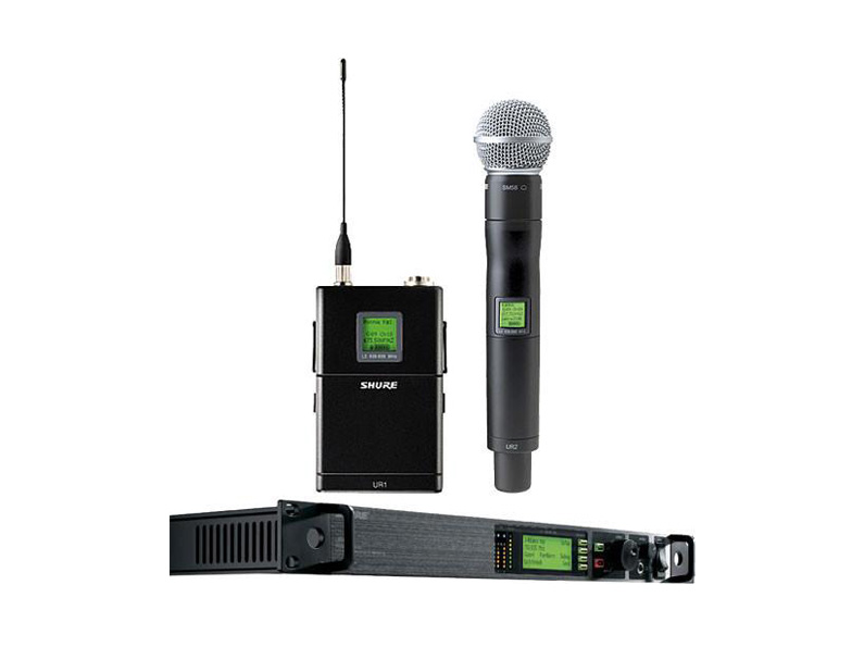 shure uhf r wireless microphone