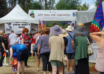 Art and the Vineyard
